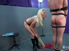 rebecca tramples, copulates and paddles a large