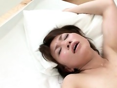 oriental sex starved hoe receives muff drilled