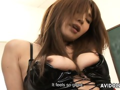 japanese honey ai kurosawa drilled in her