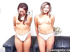 cute asian lesbo some clip part0