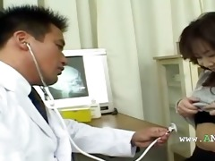 asian doctor and oriental dark hole