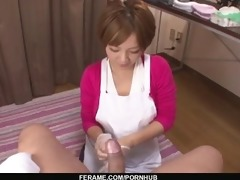milf meguru kosaka sucks pounder and 99s in pov