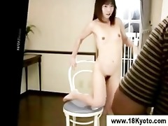 hawt japanese legal age teenager models undressed