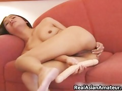 lesbo dildoing and eating part6