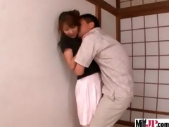 hot hot japanese milf acquire group-fucked