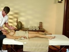 trickyspa masseur penis massaged by oriental