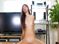 ultra hot oriental testing realy massive toy