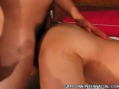 constricted booty homosexual oriental interracial