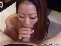 oriental amateur housewife ayako delivers hot oral