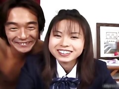 wicked japanese schoolgirl gets fingered
