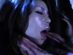 excited oriental hottie doing oral for lengthy