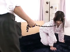 submissie aika hoshino lead around on a leash for