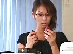 horny japanese teacher s snatch hammered