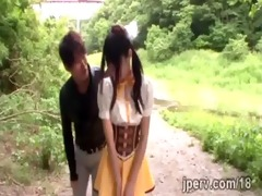 enjoyable japanese country hotty receives drilled