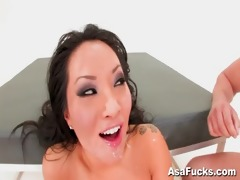asa akira&#9111 s double anal and double
