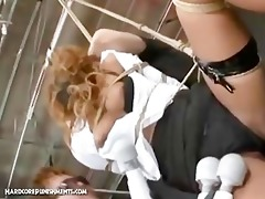 japanese bondage sex - asuka s garb and tormented