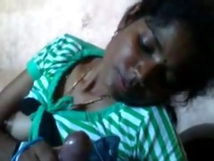 shy tamil gal engulf dick with audio