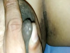 indian wife boob cram