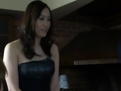 unparalleled japanese wench masturbated