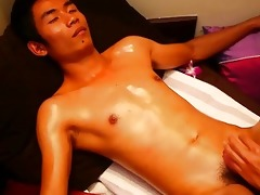 smooth oriental guy in authentic sensual thai