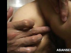oriental fisting in the shower