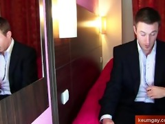 my str bankster receive stripped on porn video: