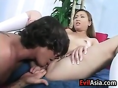 japanese gal in a three-some