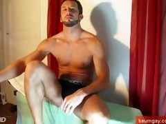 sport italian lad exposed! very big and lengthy