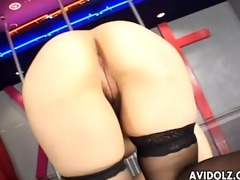 oriental dancer masturbates on stage