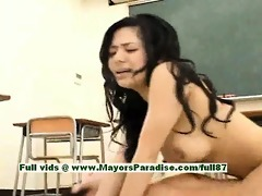 sora aoi hawt japanese student acquires a hard