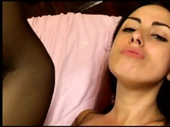 awesome nylons clad girl asia getting drilled