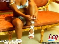 leggy oriental superslut charmaine star is all