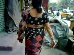 astonishing desi aunt walk