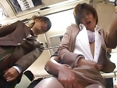 asian hottie has public sex jav