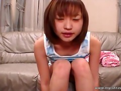 japanese legal age teenager shares her intimate
