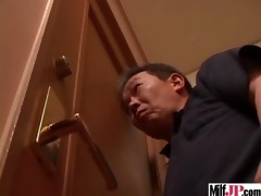 sexy japanese hot milf receive screwed hard