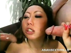oriental asami gets plugged