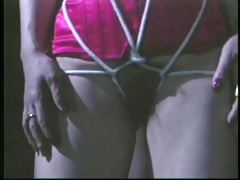 doxy tied hand and foot an caressed