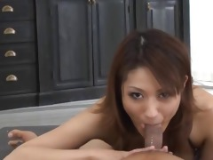 concupiscent japanese pornstar can engulfing part6