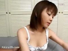 japanese cute angel licked hairy pussy