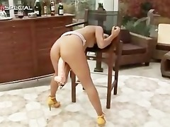 super sexually excited indian honey working on a