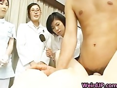 real oriental male hospital workers part0
