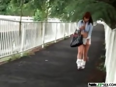 sexy model japanese acquire nailed in public
