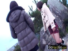 four babes exposed on a hike mizuki ashiya chisa