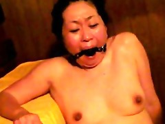 japanese villein in sauna acquires fingered