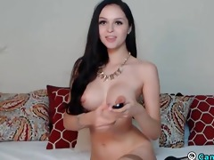 large titties cutie makes a loud agonorgasmos