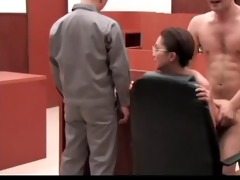 ronald and shoko fucking lawyer in court clip