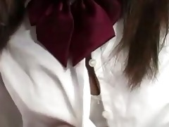 immodest japanese schoolgirl getting drilled hard