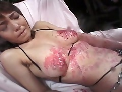 lustful japanese whore chained and tortured for