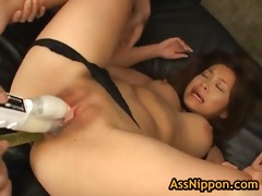 asami ogawa acquires pussy stuffed with 10